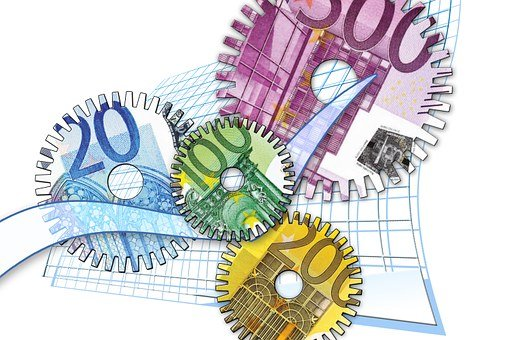 Gear, Gears, Euro, Forex, Dollar, Finance