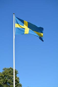 Sweden, Flag, Swedish, Scandinavia