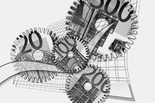 Gears, Euro, Forex, Dollar, Finance, Financial Crisis