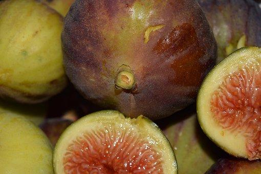 Figs, Frisch, Fruit, Eat, Sweet, Ripe, Nature, Food