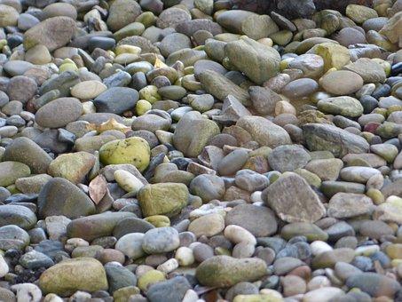 Stones, Rocks, Pebbles, Grey, Gray, Hard, Solid