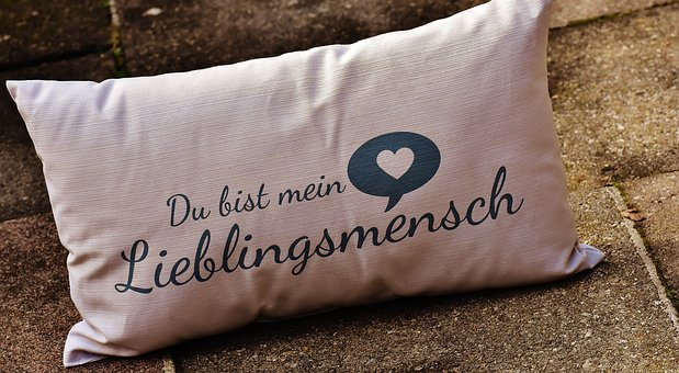 Pillow, Love, Valentine's Day, Greeting Card, Romantic