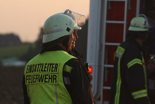 Fire, Fire Fighter, Human, Person, Helm, Rescue, Use