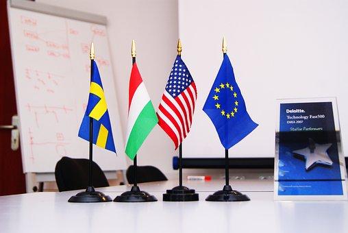 International, Flag, Company, Group Of Companies