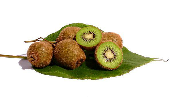 Kiwi, Fruit, Vitamins, Healthy, Green, Food, Cut