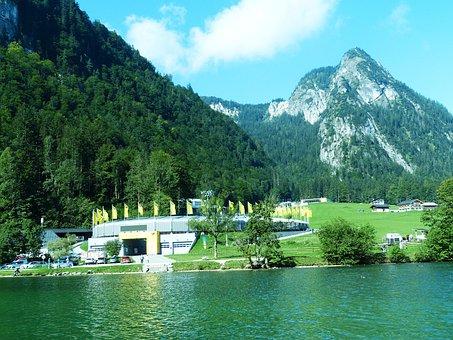 Königsee Bobsled, King Lake, Berchtesgadener Land