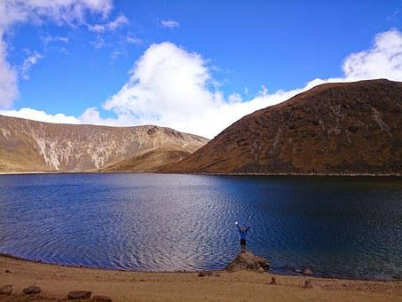 Nevado De Toluca, Laguna, The Sun Lagoon, Mexico
