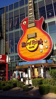 Hard Rock Hotel Las Vegas, Guitar, Sign, Las Vegas