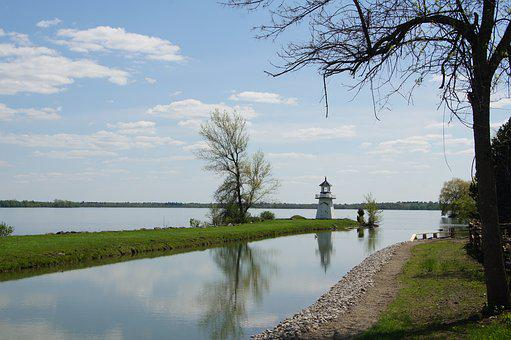 Lake, Canada, Ontario, Upper Village, Lighthouse