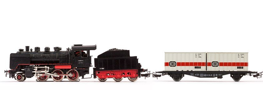 Loco, Steam Locomotive, Gift, Christmas Gift, Old