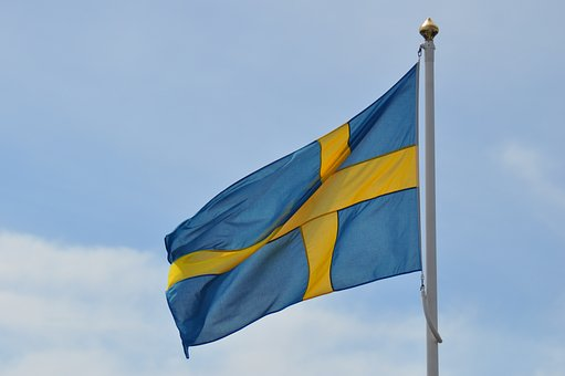 Flag, Sweden, Swedish Flag, Malmo, Swedish