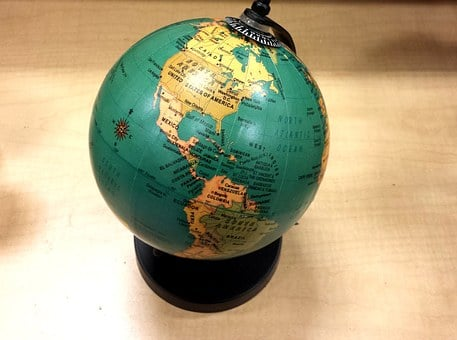 School, Geography, World Globe, Earth, Map, Blue