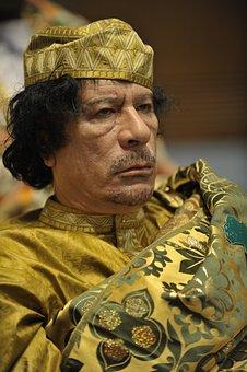 Dictator, Muammar Al Gaddafi, Head Of State, Libya