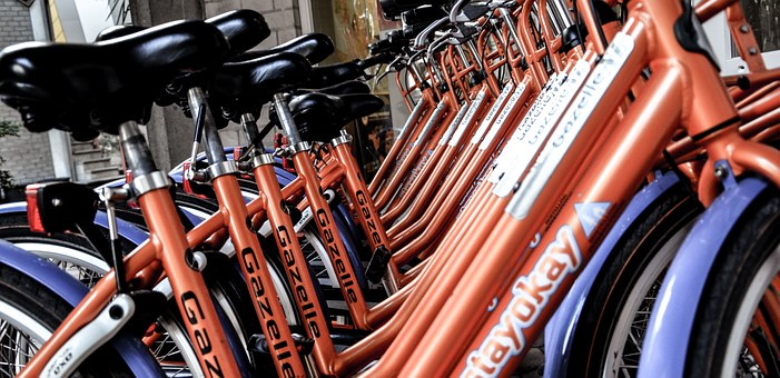 Bicycles, Amsterdam, Netherlands, Tourism, Bike, Rental
