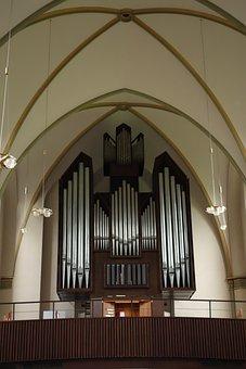 Organ, Church Of Christ, Garrison Church, Wilhelmshaven