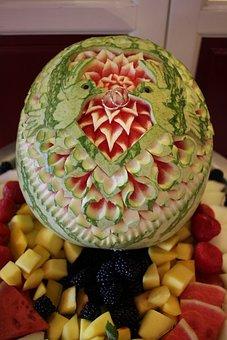 Watermelon, Pattern, Decoration, Art, Creative
