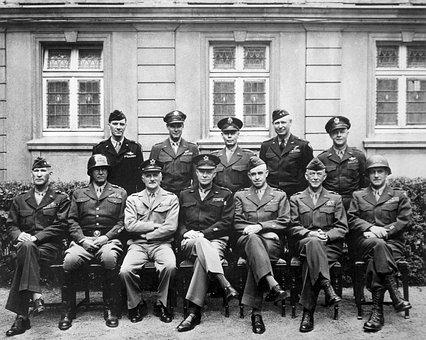 World War Ii, Allies, Generals, Eisenhower, Patton
