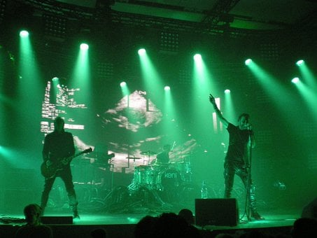 Concert, Performance, Hard Rock, Guitarist, Playing