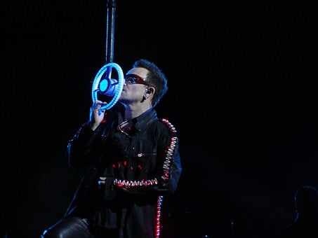 Paul David Hewson, Singer, Bono, U2, Man, Person