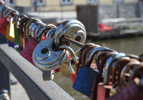 Love, Padlocks, Bridge, Promise, Love Symbol, Eternity