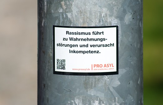 City, Sticker, Protest, Human, Per, Asylum, Racism
