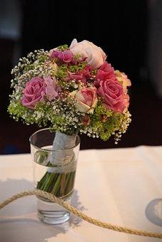 Flower, Bridal Bouquet, Wedding, Marry, Roses, Love