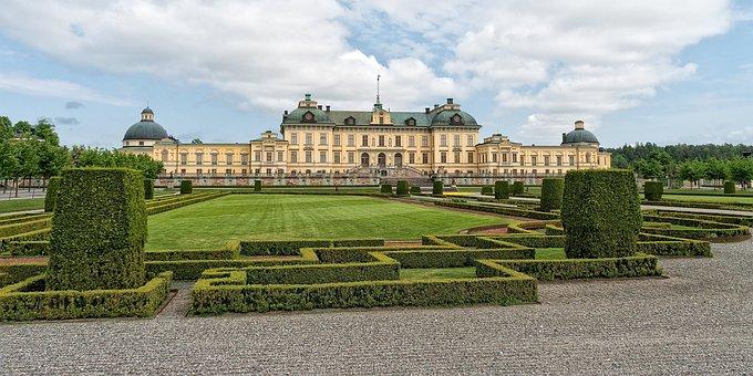 Stockholm, Castle, Royal, Sweden, Architecture