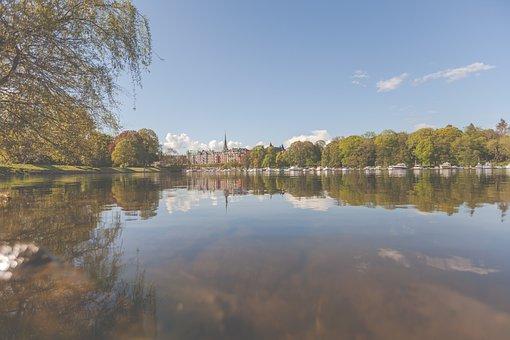 Sweden, Stockholm, Scandinavia, Fjord, River, Water