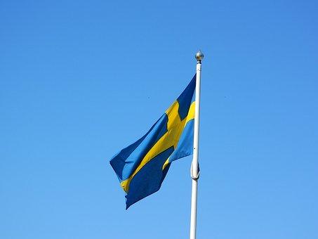Sweden, Swedish Flag, Scandinavia