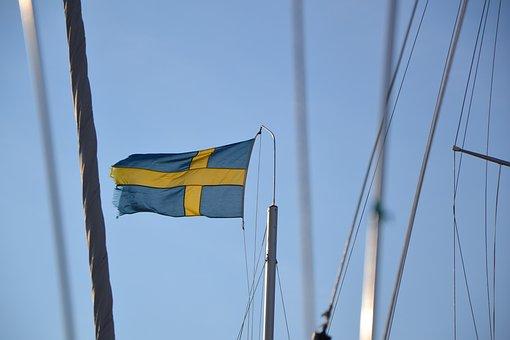 Swedish Flag, Flag, Sweden