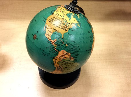 School, Geography, World Globe, Earth, Map, Blue