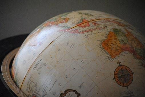 Globe, World, Earth, Map, Planet, Global, Sphere