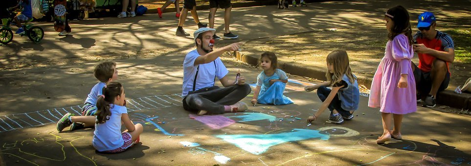 Children, Joke, Street Play, Freedom, Youth