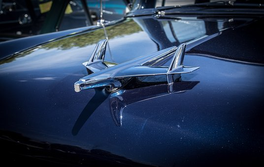 Hood Figure, Chevrolet, Bel Air, Automotive, Oldtimer
