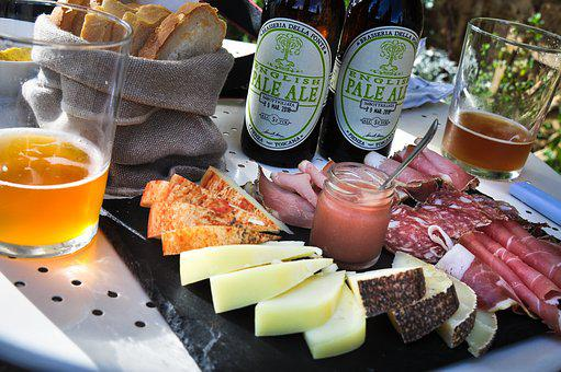Apéro, Tapas, Beer, Delicatessen, Cheese, Board
