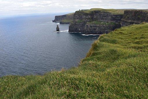Cliff, Abrupt, Stone, Sea, Costa, Ocean, Landscape
