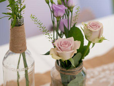 Deco, Wedding, Decoration, Background, Love, Flowers