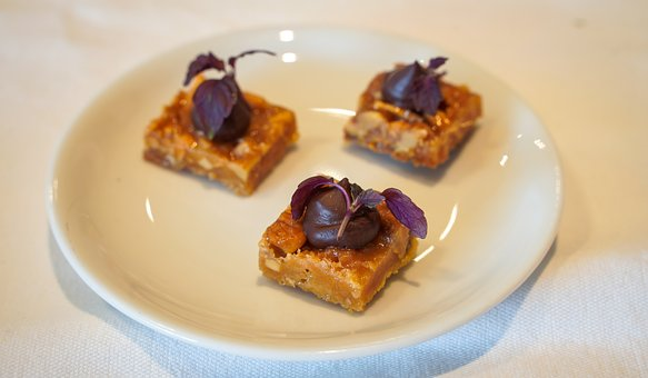 Almond, Almond Tiles, Sweet, Delicious, Chocolate