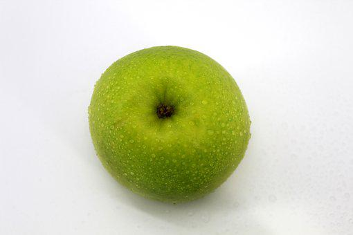 Red Apple, Green Apples, One, Two, Three, White