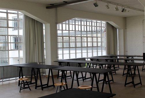 Bauhaus, Dessau, Martin-gropius-bau, Architecture