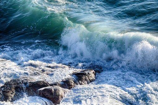 Onda, Sea, Nature, Blue, Beach, Surfing, Meditation