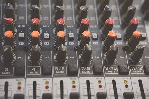 Mixer, Birthday Party, Dj, Controller, Buttons