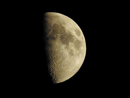 Moon, Night, Moonlight, Lunar, Night Sky