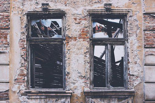 Windows, Old, Architecture, Building, Frame, Abandoned