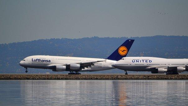 Airport, Sfo, San Francisco International, Boeing 747