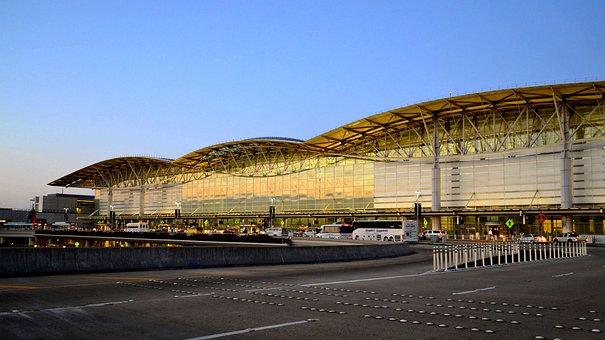 Airport, San Francisco International, Terminal, Travel