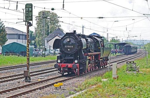Steam Locomotive, Nostalgia, Special Crossing, Event