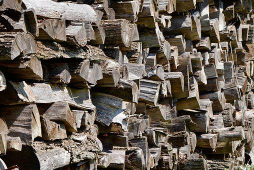 Wood, Firewood, Holzstapel, Log, Stacked, Growing Stock