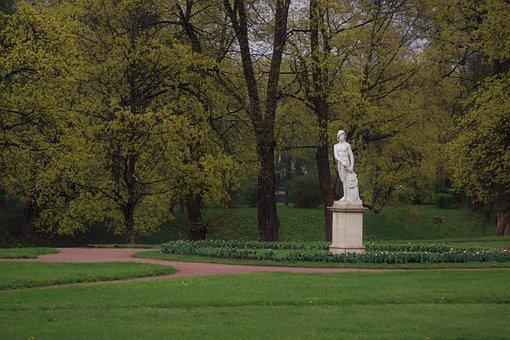 Park, Stroll, Vacation, Sculpture, Culture, Nature