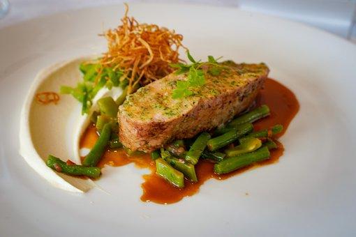 Calf, Veal, Beans, Café De Paris, Celery, Restaurant